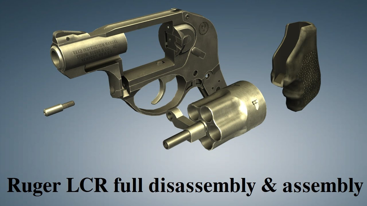 Ruger LCR: full disembly & embly - YouTube on ruger lcr disassembly, ruger 10 22 schematic diagram, ruger lcr exploded view, ruger blackhawk schematic diagram,