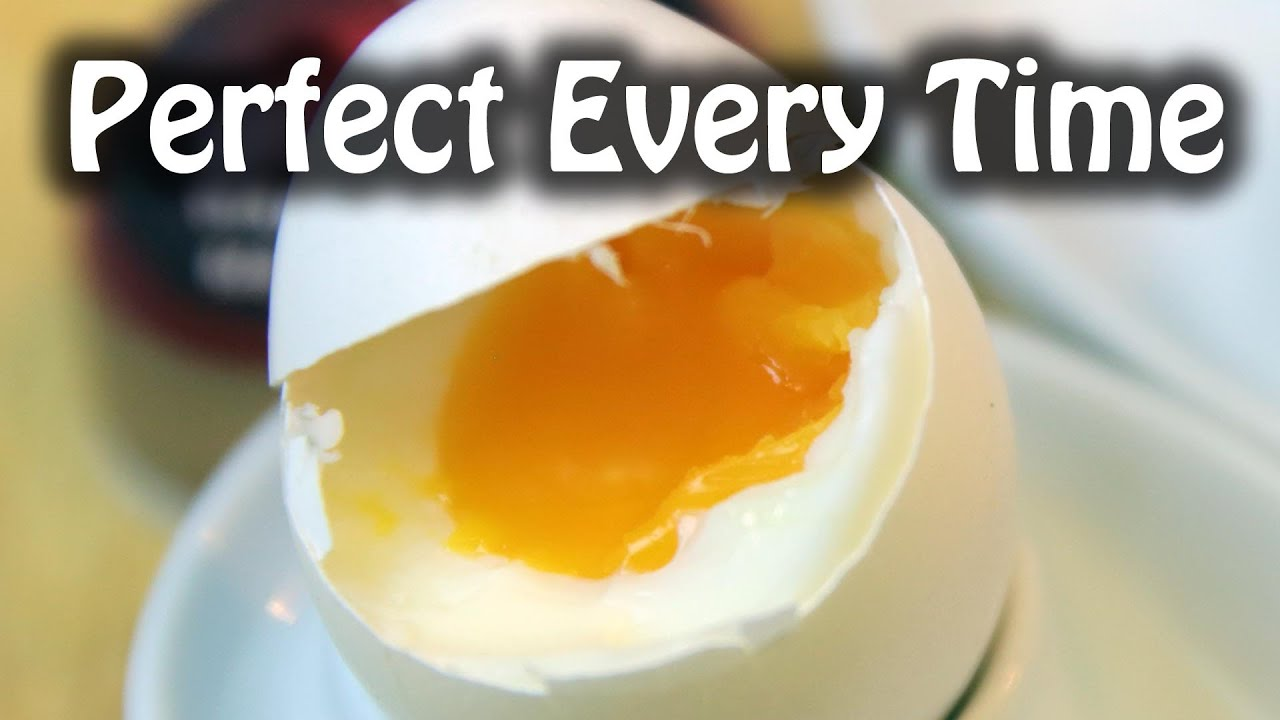 Perfect Soft Boil Egg Every TIme | BeatTheBush - YouTube