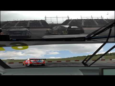 Circuit of the Americas - V8 Supercars Onboard Lap Comparison