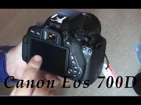 Unboxing Canon Eos 700D en español. Doblejotafoto.