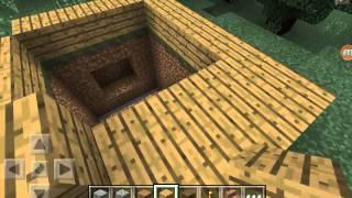 как сделать потайную дверь в minecraft pe(Это видео создано с помощью видеоредактора YouTube (http://www.youtube.com/editor), 2015-07-13T07:00:14.000Z)
