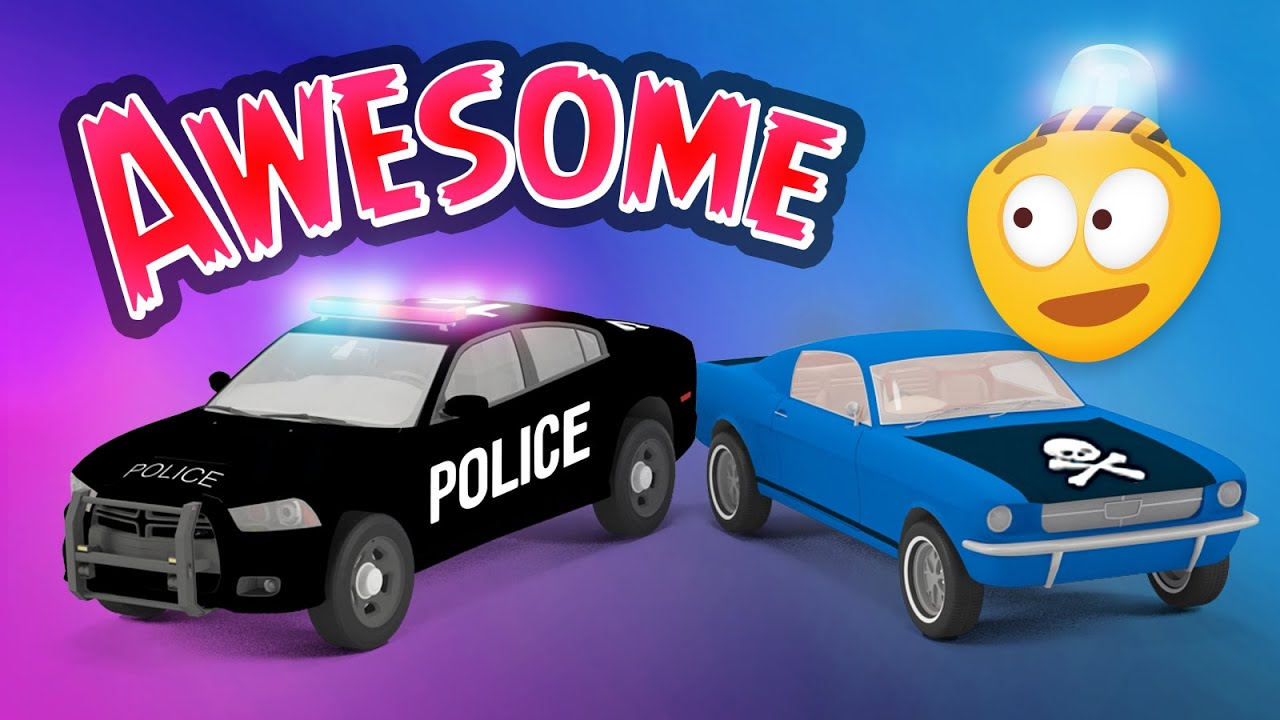 police cars videos for kids police chase videos for children rescue city heroes