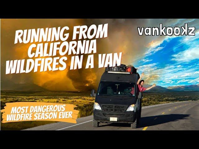 How California Fire Season is Effecting Van Life | A Day in a Van Life in California Fire Season