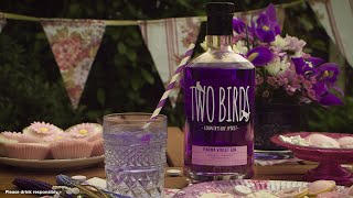 """Product Video Demo: """"Two Birds: Parma Violet Gin"""""""