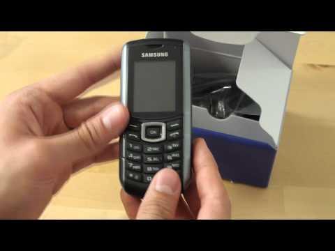 Samsung E2370 Xcover Test Erster Eindruck