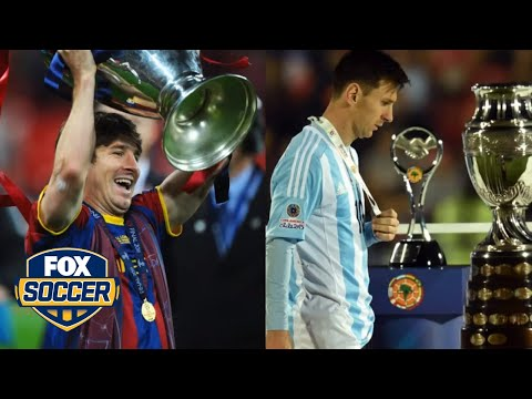 Club Vs. Country - Lionel Messi In Numbers | FOX SOCCER