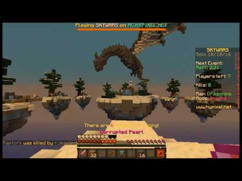 "Solo Skywars #18 ""Dragonice"""