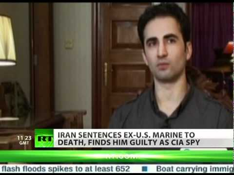 Iran sentences American ex-Marine to death for spying