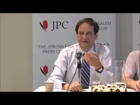 The Israeli Society: Dangerous Trends with Dan Meridor at JPC