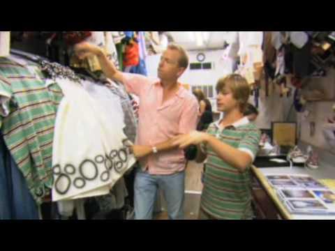 Jackson bakstage - clothes for Hannah Montana The Movie