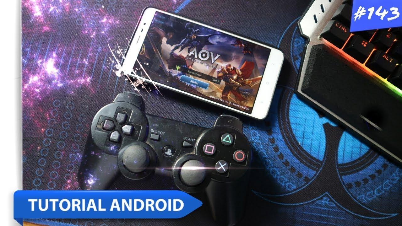 cara setting stick untuk bermain game mobile legend / arena of valor | #tutorial android #143