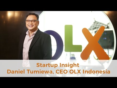 Startup Insight - eCommerce in Indonesia with Daniel Tumiwa, CEO OLX Indonesia