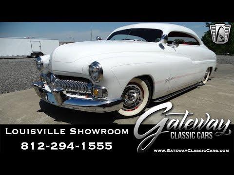1950 Mercury Coupe, Gateway Classic Cars Louisville #2111 LOU