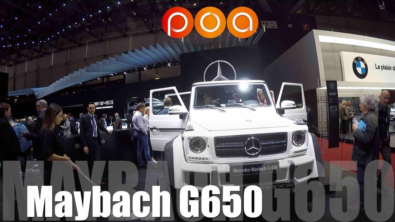 2018 maybach g650. fine 2018 mercedes maybach g650 2018 u0026 classe e cabriolet 2017  salon de  genve 1219 to maybach g650