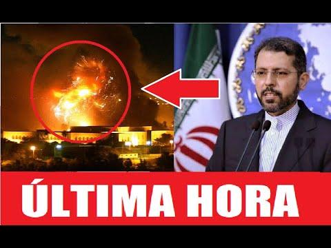HOY! Inesperado Comunicado de Irán sobre el Ataque a la Embajada de Estados Unidos en Bagdad.