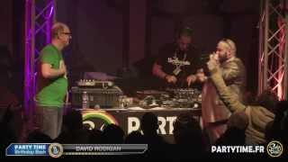 DAVID RODIGAN  @ PARTY TIME BIRTHDAY BASH - LIVE HD - 15 YEARS @ Cabaret Sauvage 15/03/13 PARIS