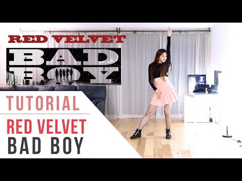 Red Velvet (레드벨벳) - Bad Boy Dance Tutorial (Mirrored) | Ellen and Brian