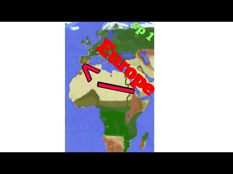LE MONDE RÉEL RECRÉÉ DANS MINECRAFT ?! - Episode 1 nations glory présentations + recap de l'ONU