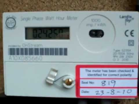electricity meter one year and 2424 3 kwh youtube rh youtube com landis gyr e650 manuale italiano landis gyr e650 instructions