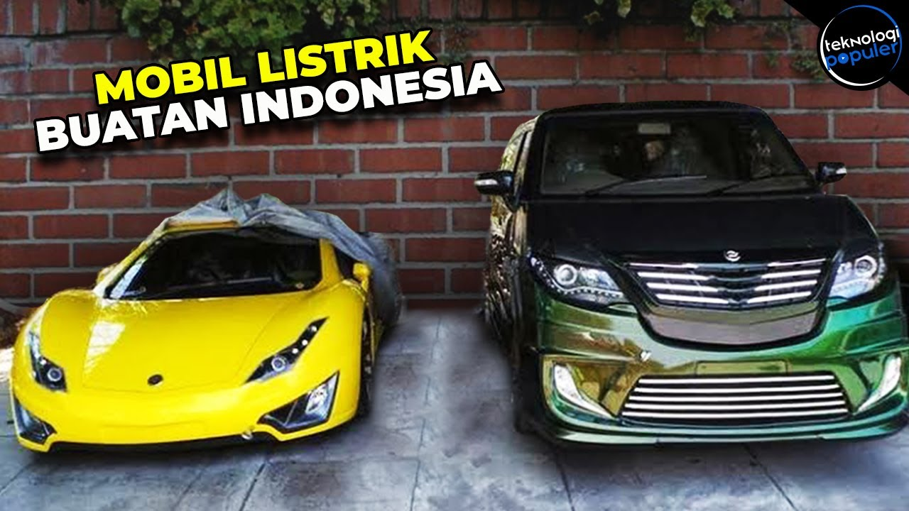 57 Mobil Listrik Buatan Indonesia HD