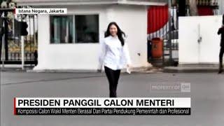 Presiden Panggil Calon Wakil Menteri