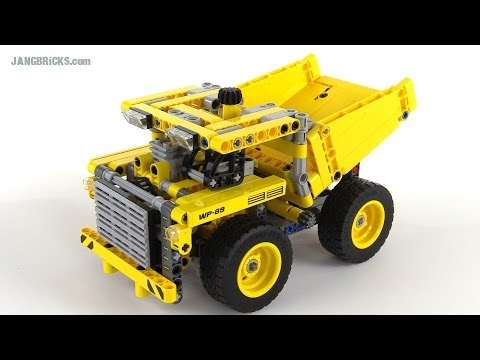 LEGO Technic 2015 Mining Truck review! set 42035 - YouTube