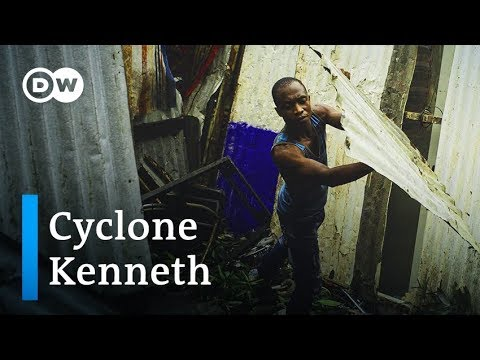 Cyclone Kenneth thrashes Comoros Islands and Mozambique | DW News