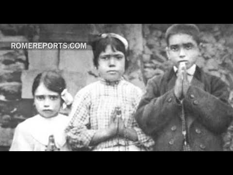 Pope Francis will canonize two of the shepherd's of Fatima