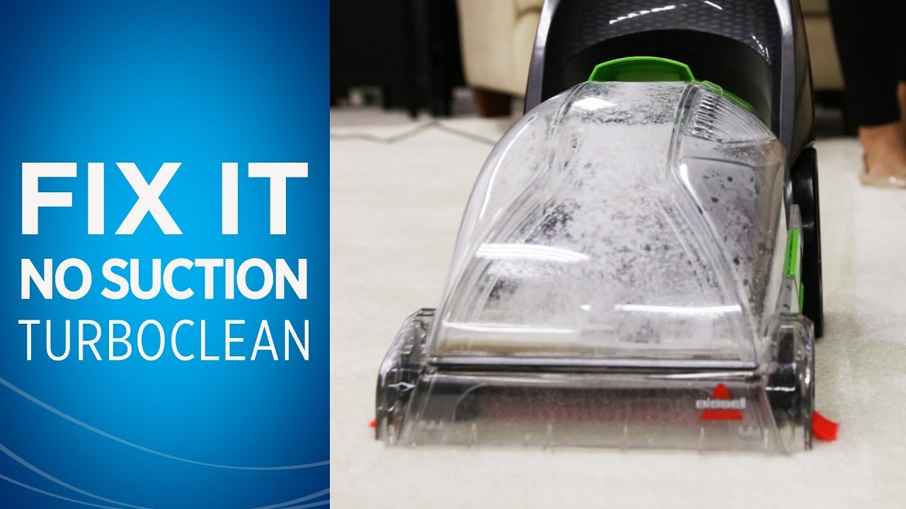 My TurboClean /PowerForce/PowerClean/PowerBrush Carpet Cleaner has no  suction | Support - Manuals+