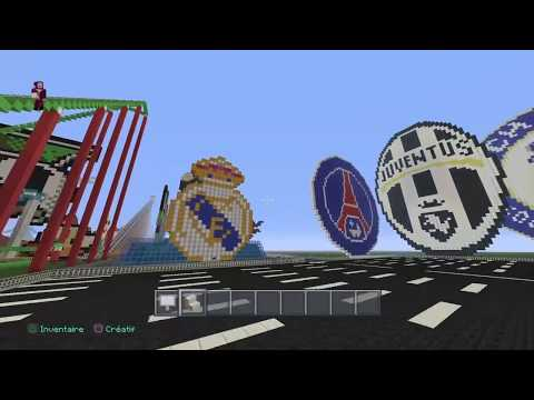 Minecraft   Mon Stade de Football  ( STADIUM ARENA )