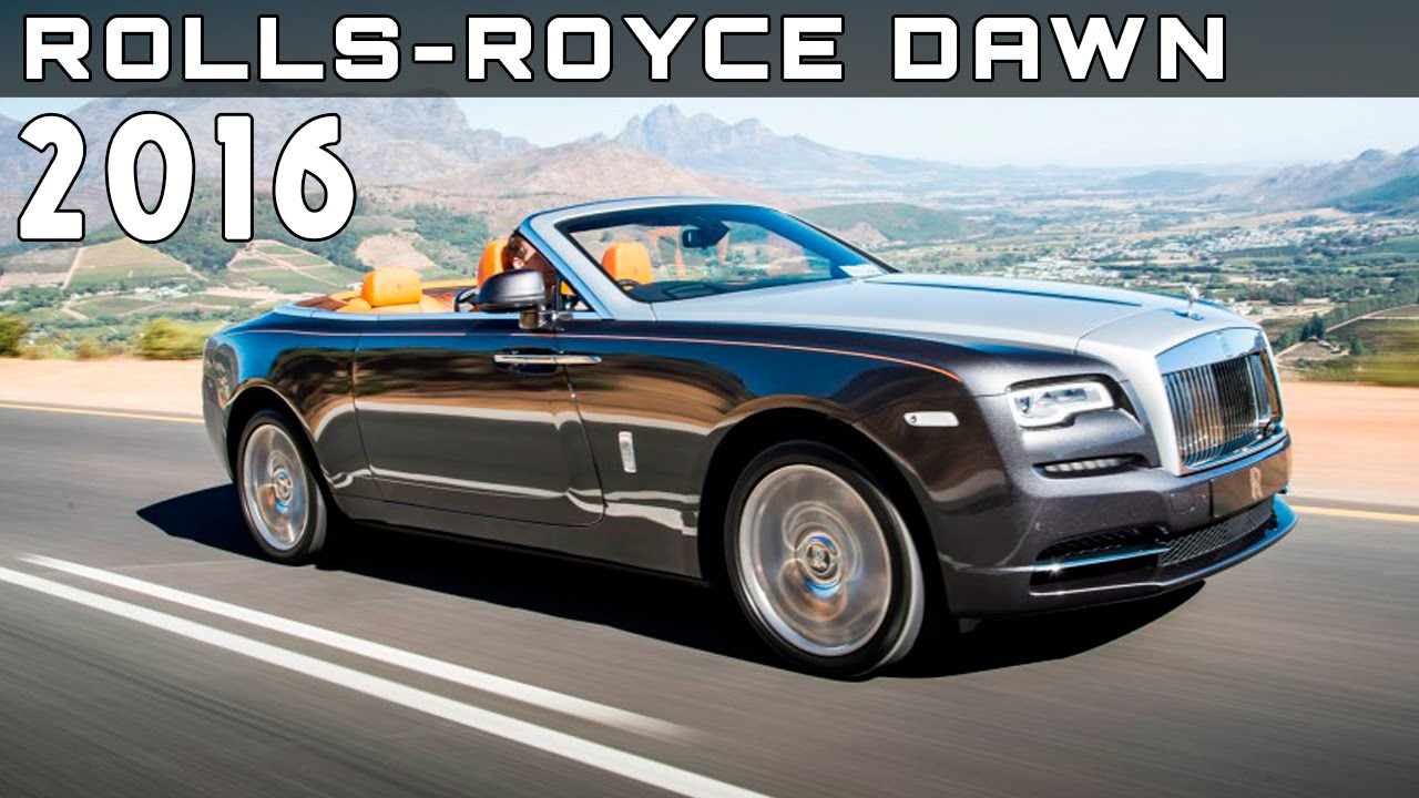 2016 rolls royce dawn review rendered price specs release date youtube. Black Bedroom Furniture Sets. Home Design Ideas