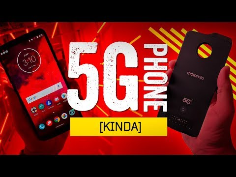 "Hands-On With The First ""5G"" Smartphone [!]"