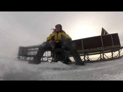 Ice fishing on Lake Peipsi 2