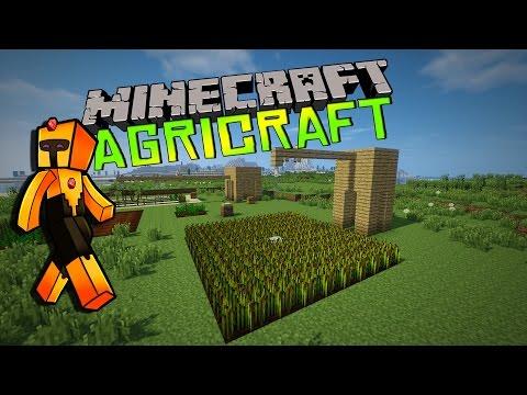[FR]-AGRICRAFT- QUE LES CULTURES PERDURENT ![Minecraft] Présentation de mod