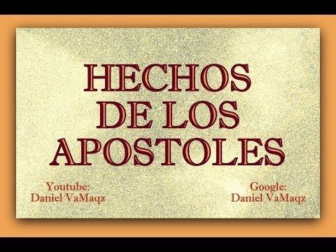 Hechos De Los Apostoles(RV-1960 Libro Completo), Biblia