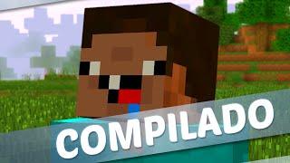 E se o Minecraft MELHORES MOMENTOS (MACHINIMA)