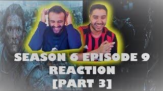 "Game of Thrones Season 6 Episode 9 [Part 3] REACTION!! ""Battle of the Bastards"""