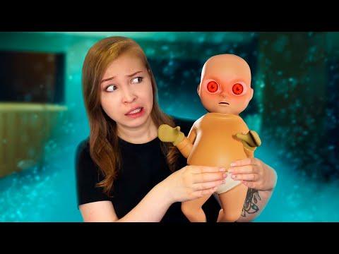НЯНЯ ОЧЕНЬ СТРЁМНОГО РЕБЕНКА! [Полное Прохождение The Baby In Yellow]