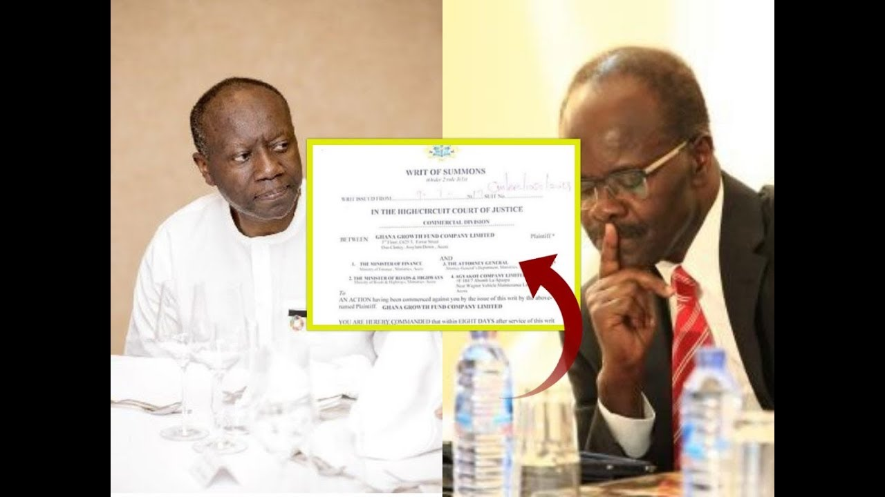 Nduom sues Finance Minister, 3 others