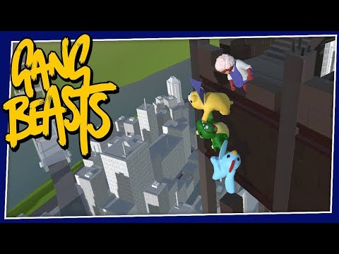 Gang Beasts - #182 - The DINO RETURNS!