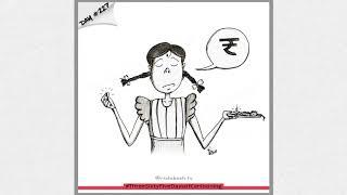 SGI's Animation Department student Rishikesh Suradkar | 365 Days of Cartooning | SGI Alumni