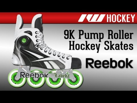Reebok 9K Pump Roller Hockey Skates 2012 - YouTube