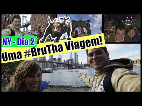 Vlog: 18 dias nos EUA #2 - NY em 4 dias -Brooklyn, DUMBO, One World, Bar How I Met your Mother e +