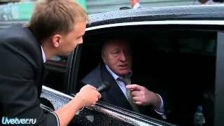 Визит В В  Жириновского в Тверь дверь откро халоп!!! 28 07 2012(ЖЕСТЬ Бойцы