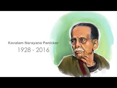 Kavalam Narayana Panicker - the theatre doyen and poet