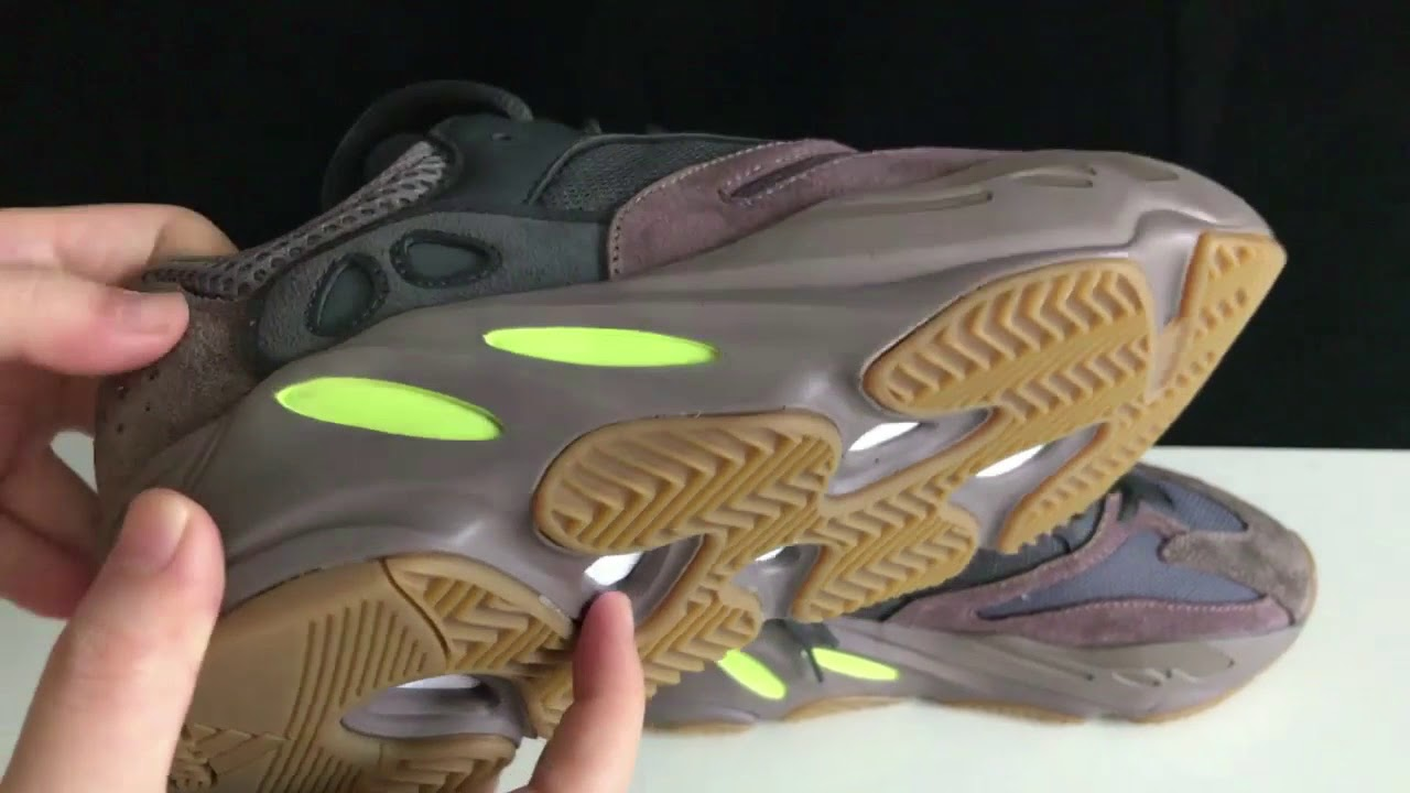 6d665409e Best UA yeezy 700 Mauve Review - YouTube