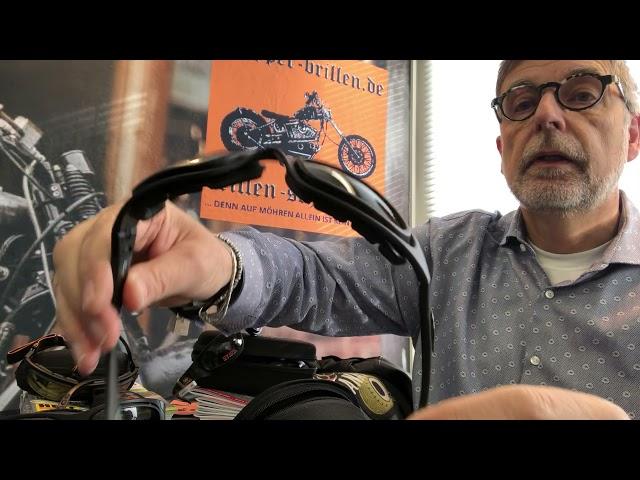 Bikerbrillen mit Wechselgläsern, ein Vergleich