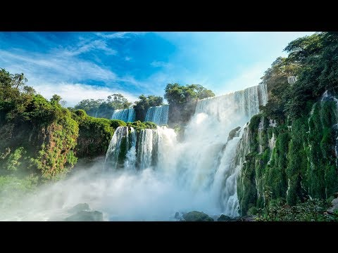 WORLDS PARADISES IN 4K (No Watermarks!) UHD Nature Scenes + Music for Therapeutic Stress Relief