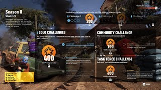 Ghost Recon Wildlands Season 8 Week 1 Solo Challenge 1