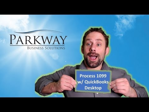 Process 1099s with QuickBooks Wizard - YouTube